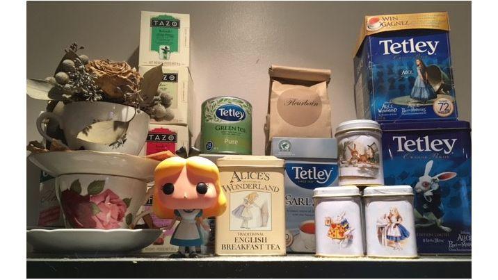 Alice In Wonderland Tea Stash