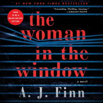 The Woman in the Window by A.J. Finn audiobook